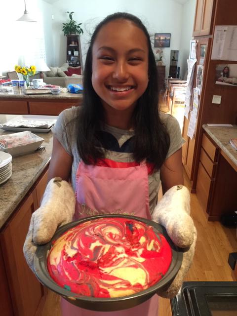 Jacqueline baking