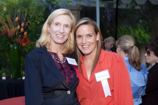 Kimberley Yates and Dr. Kari Nadeau, during a fundraising event for food allergy research at Stanford